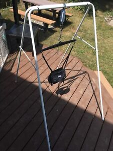 Jolly jumper with stand, used, great condition