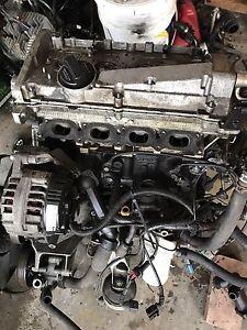 VW Passat, Audi A4 18t engine, bent exhaust valves