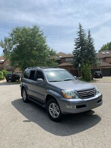 2006 LEXUS GX470/ ONE OWNER/ ALL SERVICES RECORD FROM LEXUS