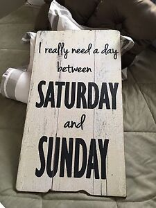 Large Home Decor Sign