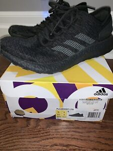 64e8a3e34 Men s adidas Pure Boost triple black size 9.5 ultraboost yeezy