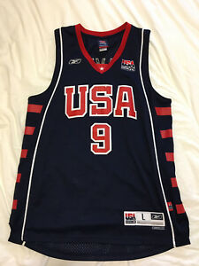 Team USA 2004 Lebron James Jersey L
