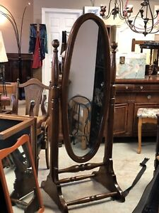 Pine Cheval Mirror Free Standing $125