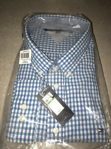 Size 5xl men's button up Tommy Hilfiger shirt brand new