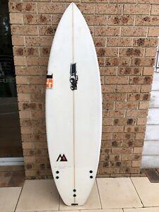 JS Monsta Surfboard with Glass fins