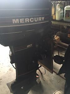 20 hp mercury Capalaba Brisbane South East Preview