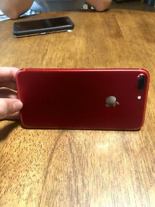 Red iPhone 7+ 128 gig