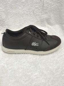 Boys' Genuine leather Lacoste shoes never worn