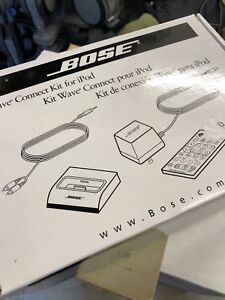 Bose 32 pin wave connect kit new in box