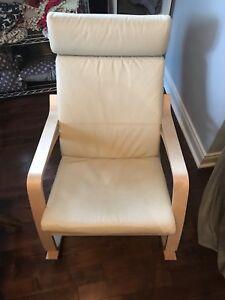 Chaise berçante Ikea Poang