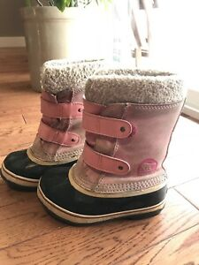 Girls Sorel 1964 Pac Strap Winter Boot sz12t