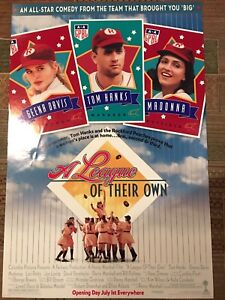 A League of Their Own - Original Movie Poster