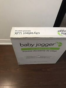 2018 Baby jogger city select LUX 2nd seat