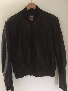 LEATHER Harley Davidson Bike Jacket Avalon Pittwater Area Preview