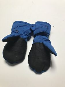 Blue & black toddler winter ski mittens by Kaos suit 2 - 3 year old Taylors Lakes Brimbank Area Preview
