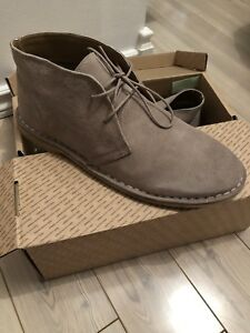BNWT MEN'S SIZE 10 Leather Desert Boots