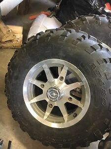 Polaris sportsman rims and tires
