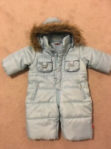 Colours for life Baby Boy snowsuit, Size 6-9mnths