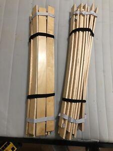 Queen size bed wood slats