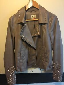 Vegan leather bomber NWT