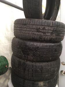 5 pneus 195/60/15