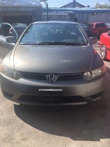 2007 Honda Civic coupe 1.8l