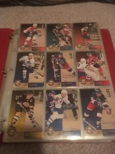 NHL hockey cards upper deck collectors choice set