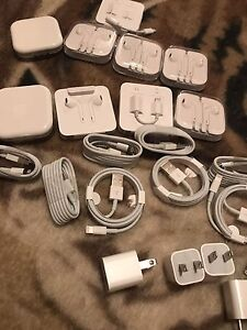APPLE %100 ORIGINAL EARPOD HEADPHONES CABLE CHARGER REAL%100