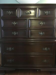 Gibbard solid mahogany bedroom set