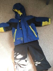Boys monster size 4 snowsuit