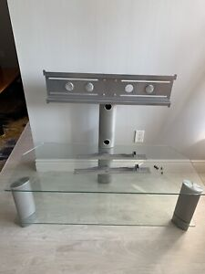 Glass TV stand for TV upto 60 inch