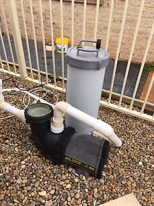 Above ground pool pump Prestons Liverpool Area Preview
