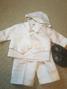 Baptism outfit size small