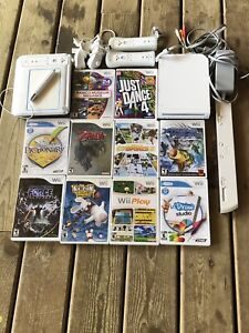 wii System with all you see