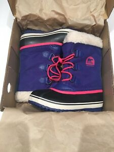 Sorel Yoot Pac winter boots (youth size 2)