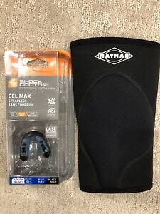 Wrestling knee pad / mouth guard
