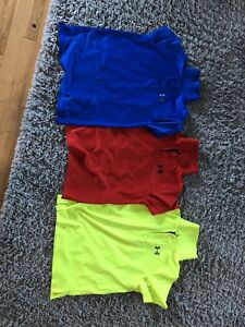 Under Armour Golf Shirt (youth large)