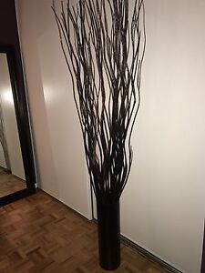 Tall Floor Vase And Branch Decor