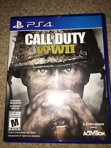 Brand New Call Of Duty WW2 For Ps4