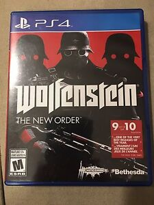 PS4 wolfenstein the new order