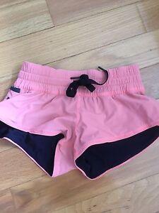 Lululemon water surf shorts reversible size 2