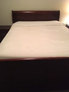 7 piece bedroom set and mattress