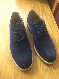 Navy Blue Town Shoes