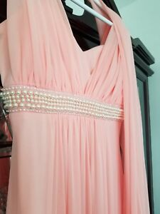 Magnifique robe rose saumon/ Beautiful dress coral pink