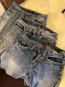 3 pair of Silver jeans for only $15!