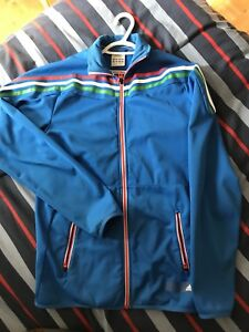 REDUCED PRICE MUST GO - Mens Adidas zip up size SMALL
