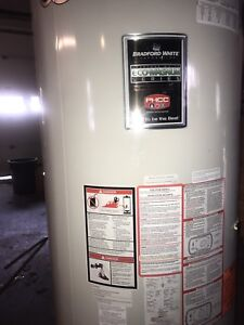 FOR SALE a Propane  super high efficient 100 Gallon