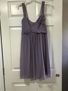 Lavender Bridesmaids Dress