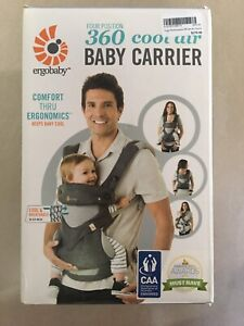 Ergobaby 4 Position 360 Cool Air Baby Carrier
