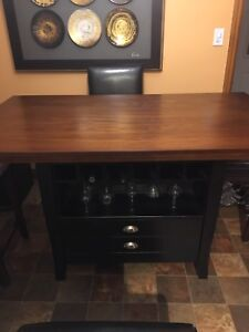 Dining Room Table Pub Height